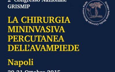 Dr Prof Luca Avagnina relatore al 2° Congresso Nazionale del Grismip